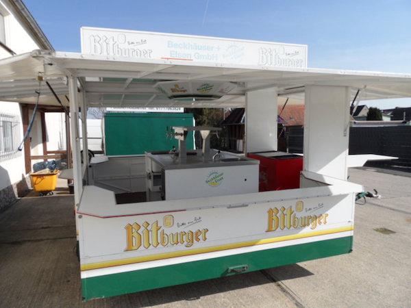 Bierwagen Bitburger