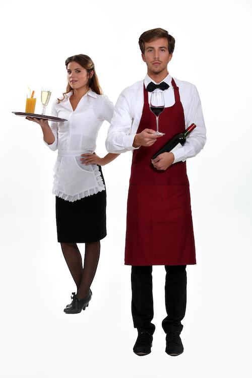 Kellner und Servicepersonal