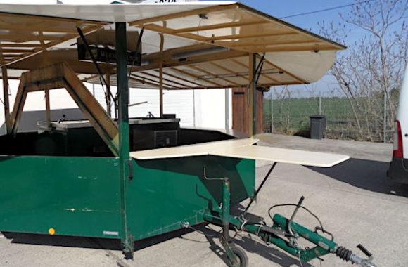 Wernesgrüner Bierwagen 2